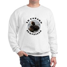 French Duck is Watching Sweatshirt