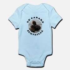 French Duck is Watching Infant Bodysuit