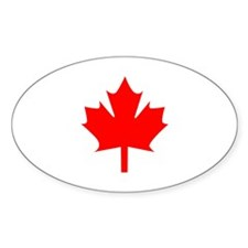 Canadian Maple Bumper Stickers