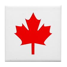 Canadian Maple Tile Coaster