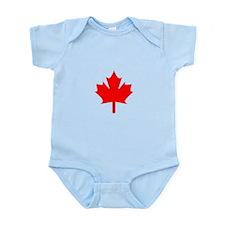 Canadian Maple Infant Bodysuit