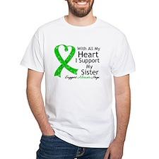 Support Sister Green Ribbon Shirt