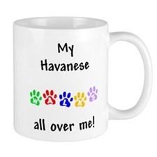 Havanese Walks Mug