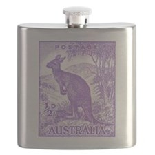 Cool Stamp collecting Flask