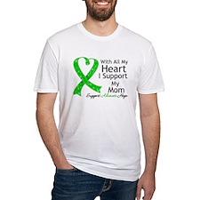 Support Mom Green Ribbon Shirt