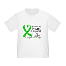 Support Mom Green Ribbon T