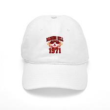 Raising Hell since 1971.png Baseball Cap