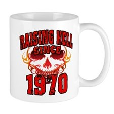 Raising Hell Since 1970 Mug