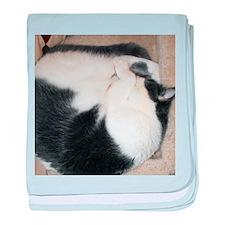 Cute Kitty Sleeping baby blanket