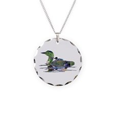 Colorful Loon Necklace