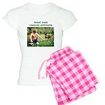 Real Men Rescue Animals Women's Light Pajamas