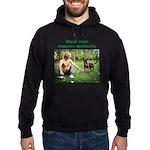 Real Men Rescue Animals Hoodie (dark)