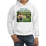 Real Men Rescue Animals Hooded Sweatshirt