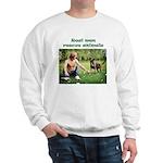 Real Men Rescue Animals Sweatshirt