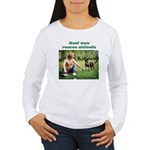 Real Men Rescue Animals Women's Long Sleeve T-Shir