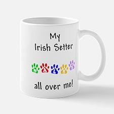 Irish Setter Walks Mug