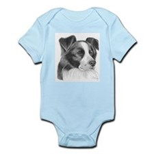 Border Collie Infant Bodysuit