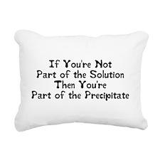 Part of the Solution Rectangular Canvas Pillow