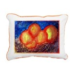 Oranges Rectangular Canvas Pillow