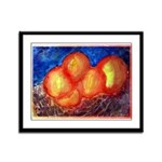 Oranges Framed Panel Print