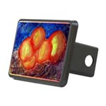 Oranges Rectangular Hitch Cover