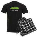 topless green Men's Dark Pajamas