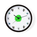 Halloween Slime Clock Wall Clock