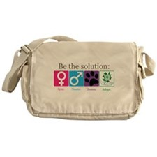 Be the Solution Messenger Bag