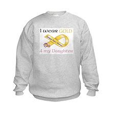 I Wear GOLD 4 my Daughter Childhood Cancer = GOLD