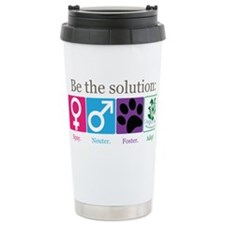 Be the Solution Stainless Steel Travel Mug