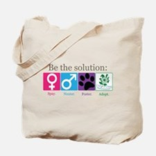 Be the Solution Tote Bag