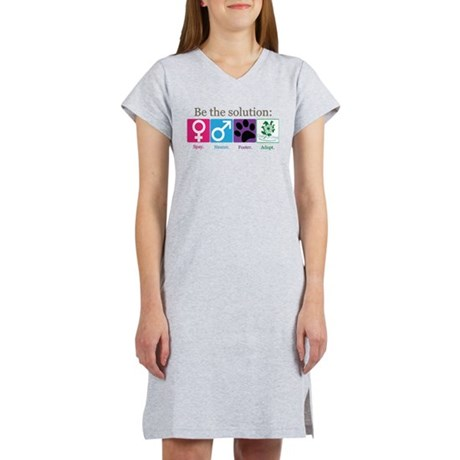 Be the Solution Women's Nightshirt
