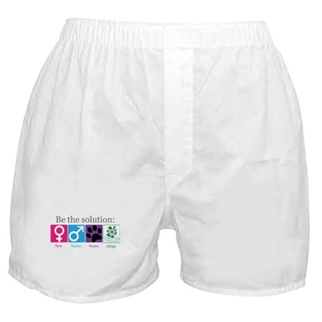 Be the Solution Boxer Shorts