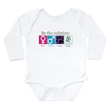 Be the Solution Long Sleeve Infant Bodysuit