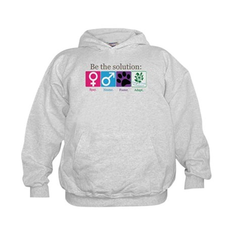 Be the Solution Kids Hoodie