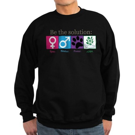 Be the Solution Sweatshirt (dark)