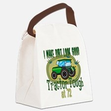 Tractor Tough 72.png Canvas Lunch Bag