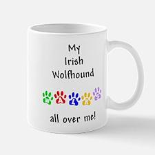 Irish Wolfhound Walks Mug
