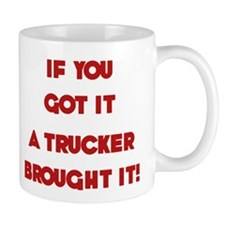 A Trucker's Kid Mug
