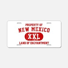 Property of New Mexico the Land of Enchantment Alu