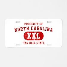 Property of North Carolina, Tar Heel State Aluminu