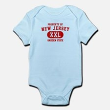 Property of New Jersey the Garden State Infant Bod