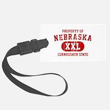 Property of Nebraska the Cornhuskers State Luggage Tag