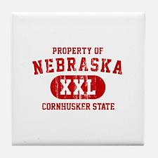 Property of Nebraska the Cornhuskers State Tile Co
