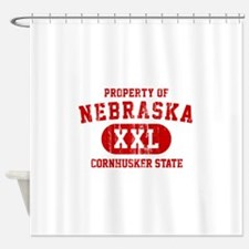 Property of Nebraska the Cornhuskers State Shower