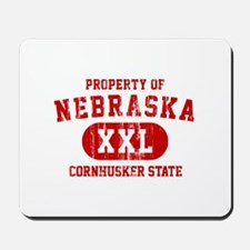 Property of Nebraska the Cornhuskers State Mousepa