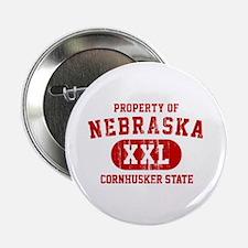 "Property of Nebraska the Cornhuskers State 2.25"" B"