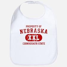 Property of Nebraska the Cornhuskers State Bib