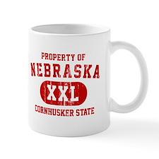 Property of Nebraska the Cornhuskers State Mug