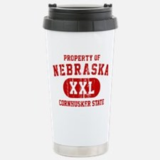 Property of Nebraska the Cornhuskers State Stainle